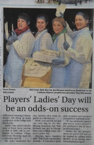 Surrey Ad coverage of Ladies' Day